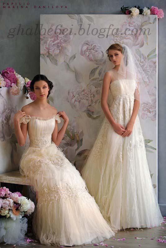 عکس لباس عروس شیشه ای
